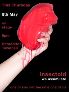 Flyer for Insectoid Performance