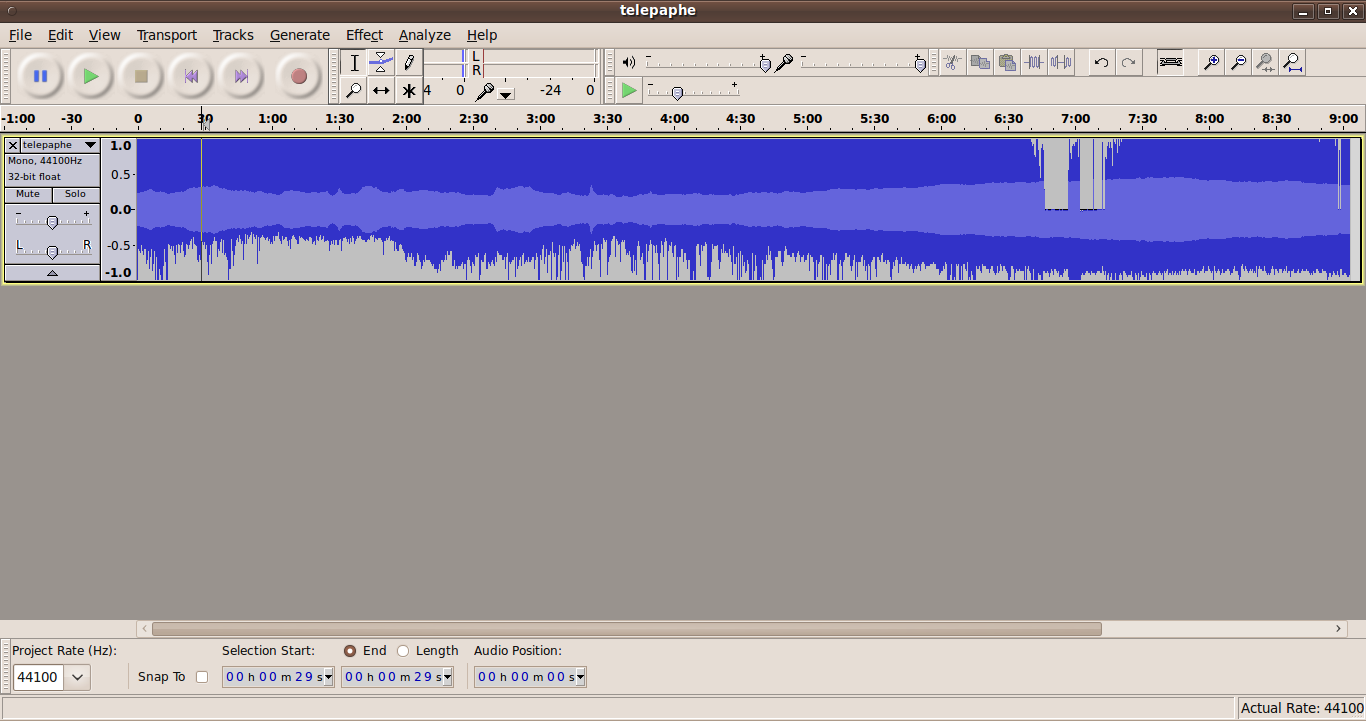 audacity change language