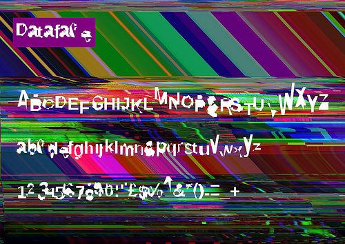 Dataface glyphs