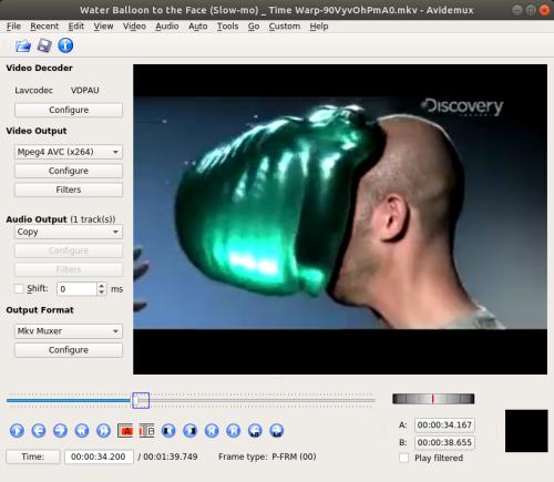 Datamoshing using Avidemux 2 7 0 | Antonio Roberts